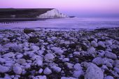 The Seven Sisters in the Seven Sisters Country Park South Downs National Park Sussex