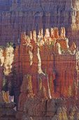 Rock formations in Bryce Canyon National Park Utah USA