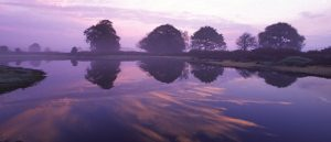 C1-12812 Sunrise over Mogshade Pond