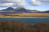 The Paps of Jura from the island of Islay, Scotland