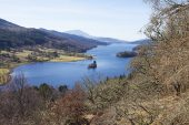 Loch Tummel from The Queen's View Perth and Kinross Scotland March 2017