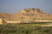 Bardena Blanca in the Bardenas Reales Natural Park Navarra Region Spain