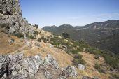 Hills near Cabanas del Castillo Extremadura Spain