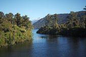 Lake Moerake Southern Alps South Island New Zealand